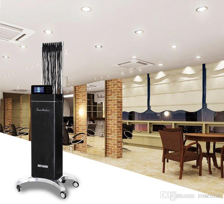 2017 새로운 도착 원격 제어 머리 파마 기계, 살롱 전문 디지털 머리 파마 기계, 고급 버전 TG90 컬러 블랙 사용