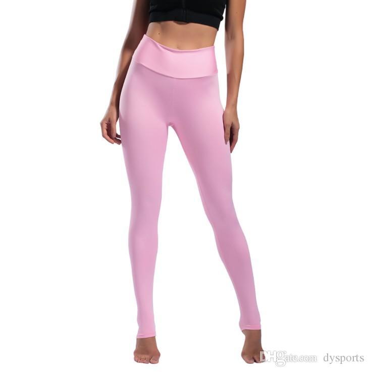 Acheter Pantalon De Yoga Pour Femme Longueur De La Cheville Pantalon  Stretch Fitness Leggings Collants De Gymnastique Pantalon Taille Haute  Pantalon De ... 08887c56339