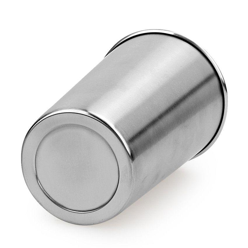 4 pezzi in acciaio inox 16 oz bere tazze bambini bicchieri uso alimentare 16 once pinta tumbler multiuso 500 ml latte tazza di birra