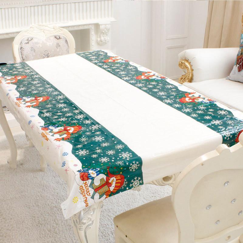 new disposable christmas tablecolth waterproof tablecloth xmas party rh dhgate com