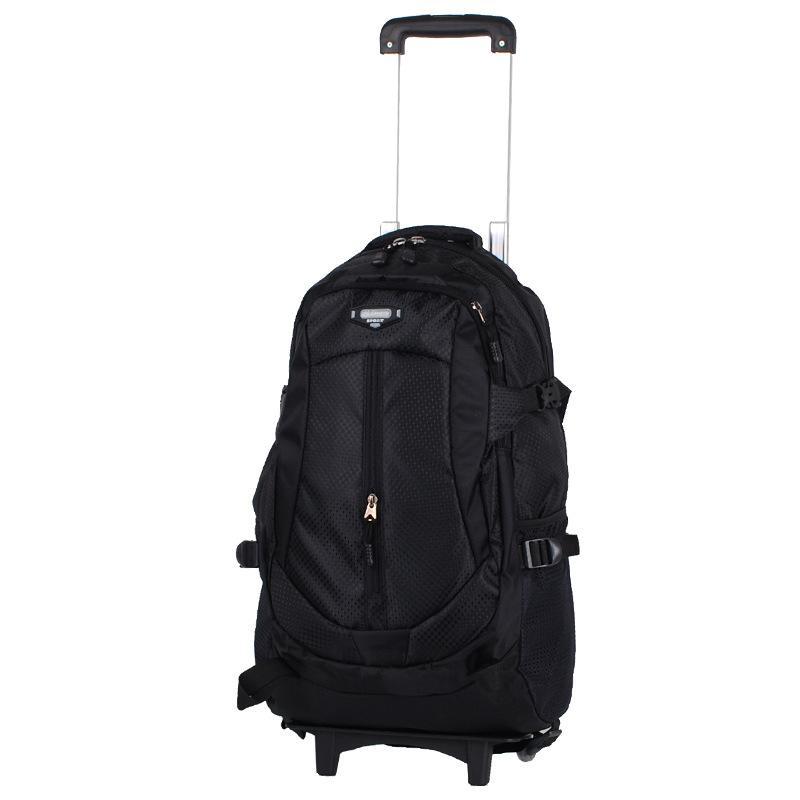 3b13cda171 School Travel Bag Men Rolling Luggage Trolley Women Boarding Box ...