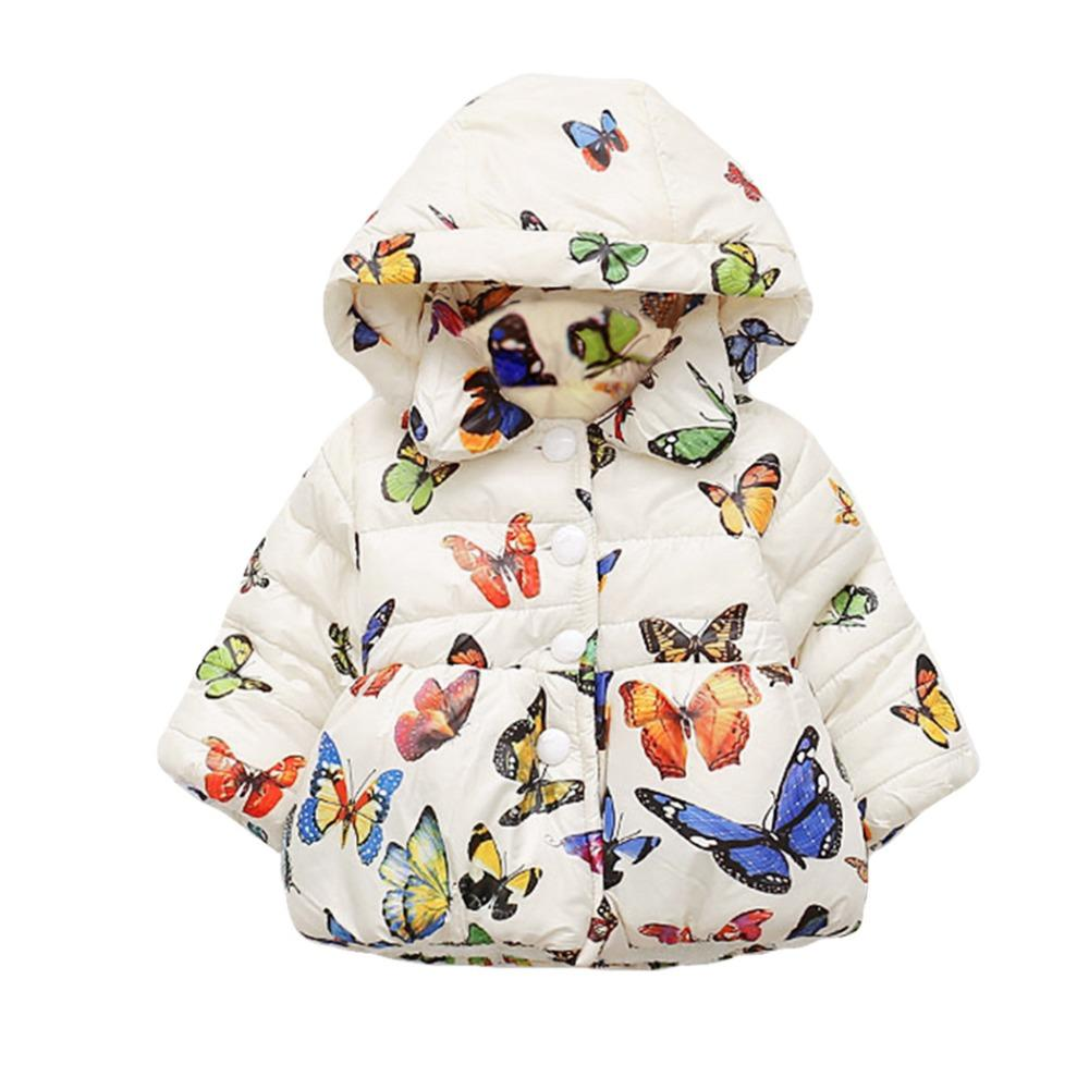 5198746f3345 Bibicola Baby Girls Clothing Coat Winter Cotton Jacket Children Warm ...