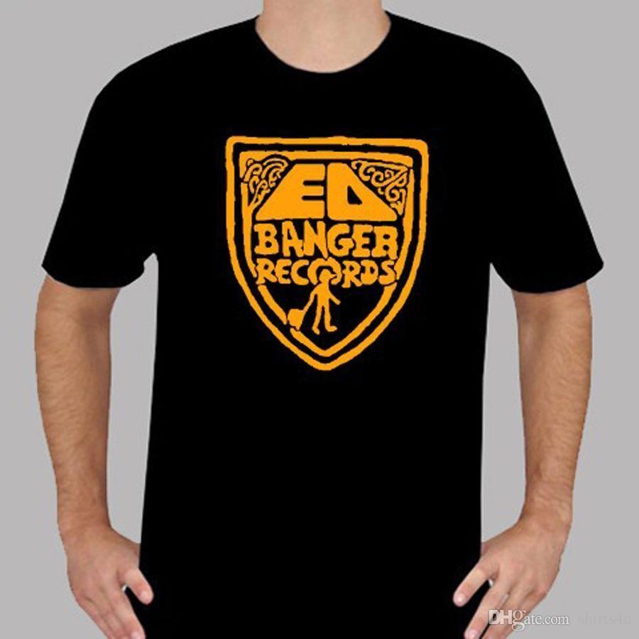Create Your Own Shirt Design Short Sleeve Men New Ed Banger Records