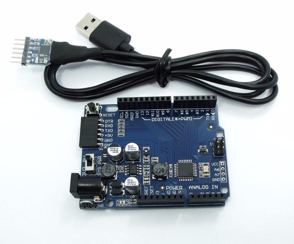 BUONO UNO LITE R3 for arduino USB 2 0 Serial Light Cable USB to UART