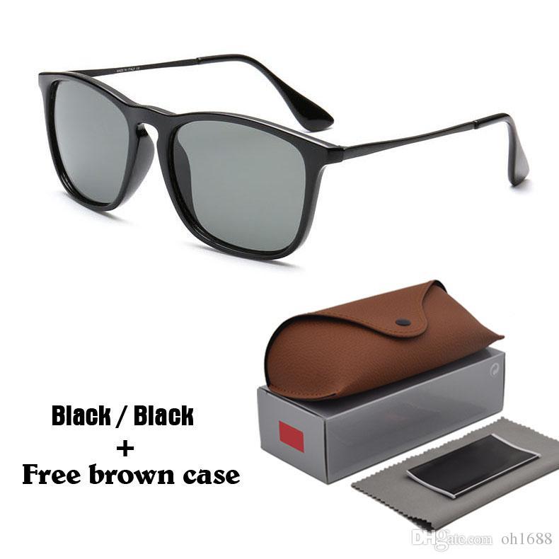 6621c9d87d Compre Nuevas Gafas De Sol Redondas De La Moda Hombres Mujeres Diseñador De  La Marca Gafas Gafas De Sol Con Reflejos Uv400 Gafas Con Cajas Y Caja A  $8.5 Del ...