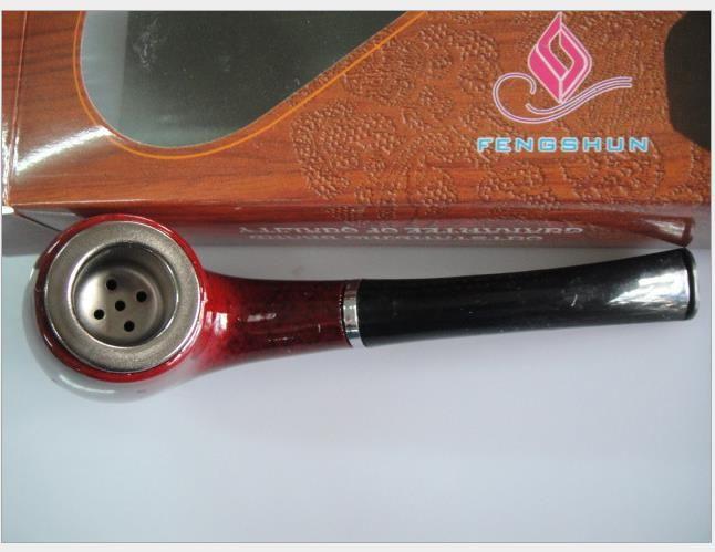 Iron Pot Pipe Dry Tobacco Bag Ciclo de filtro de doble propósito de limpieza