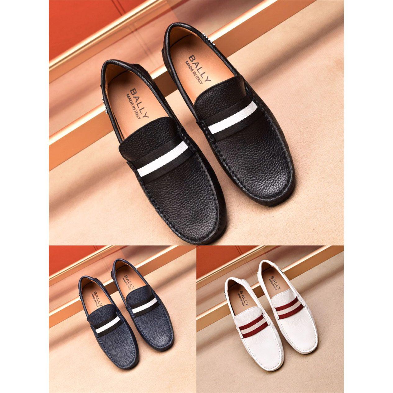 422ec333e Compre 3 Cores Mocassim Sapatos Dos Homens De Couro Genuíno Dos Homens  Flats Respirável Sapatos Italianos Mocassins Confortáveis Plus Size 38 45  Sapatos ...