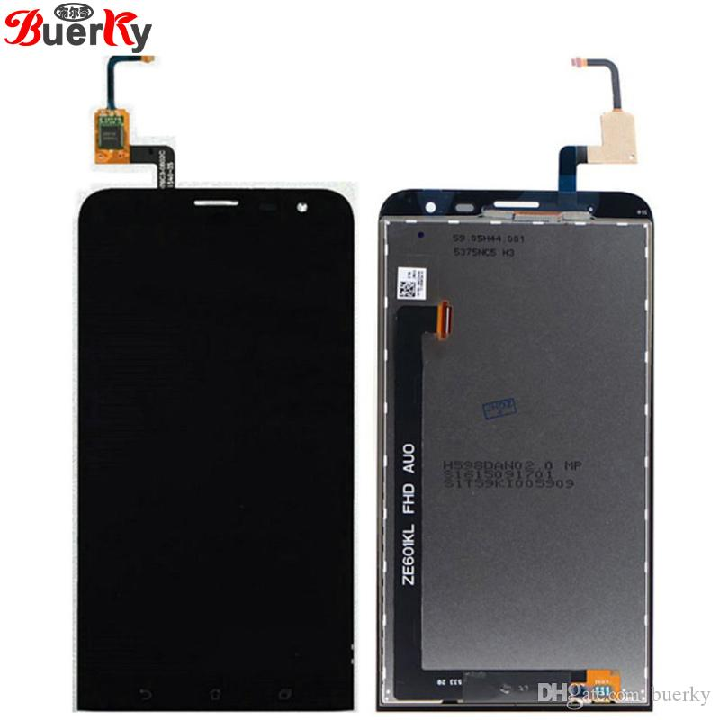 best website dc0c8 181a8 For Asus Zenfone 2 Laser ZE601KL full LCD Display Assembly Complete with  touch Digitizer sensor free shipping