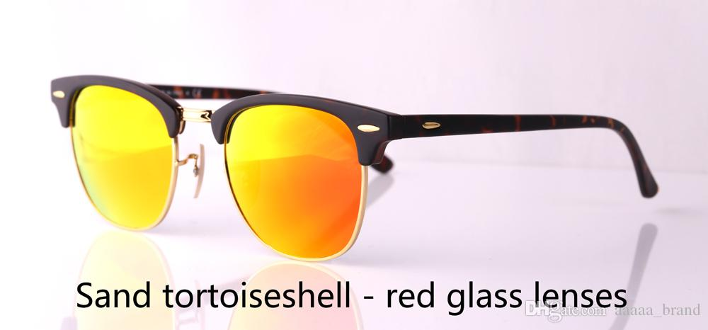 Brand designer Mens Womens Sunglasses plank frame Metal hinge Glass Lens Cat Eye sun glasses uv400 Goggle With Retail cases and label