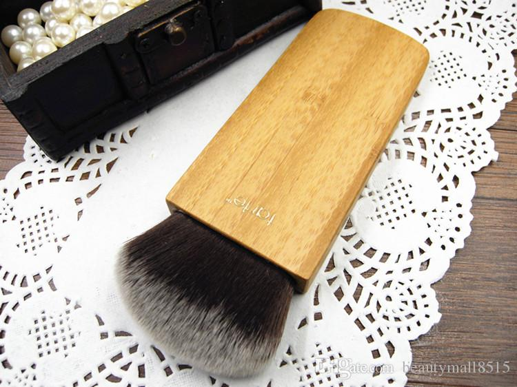 brand new swirl power contour bronzer powder makeup brushes airbuki synthetic single brush pinceaux de maquillage In Stock