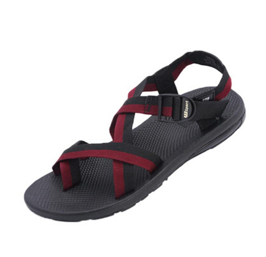 5c7a7d700712 2018 New Sports Men S Sandals Sports Vietnam Shoes Summer Rome Casual Beach  Shoes Korean Fashion Men S Toes Salt Water Sandals Bridesmaid Shoes From ...