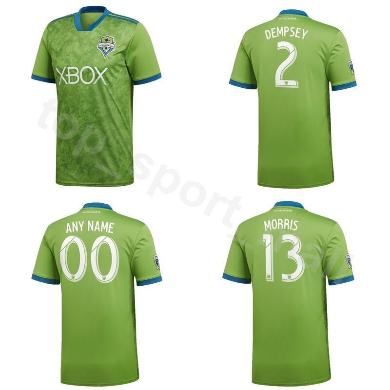 more photos 1bff0 80584 FC MLS Seattle Sounders Soccer Jersey 2019 Men 7 ROLDAN 10 LODEIRO 9  RUIDIAZ 14 MARSHALL 24 FREI Goalkeeper Football Shirt Kit Uniform