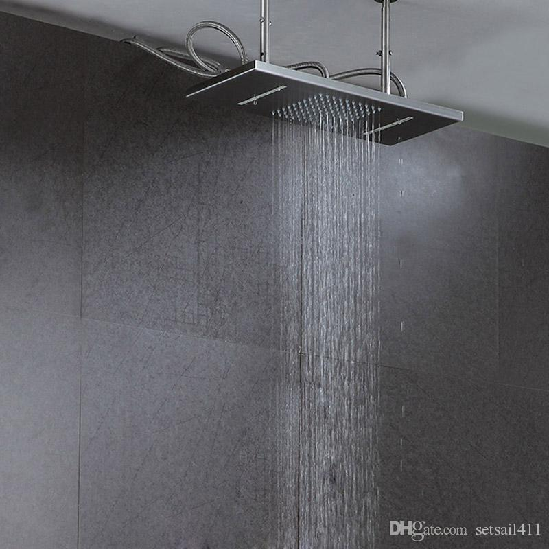 2019 Bathroom Rainfall And Waterfall Shower 300 500mm Shower Heads