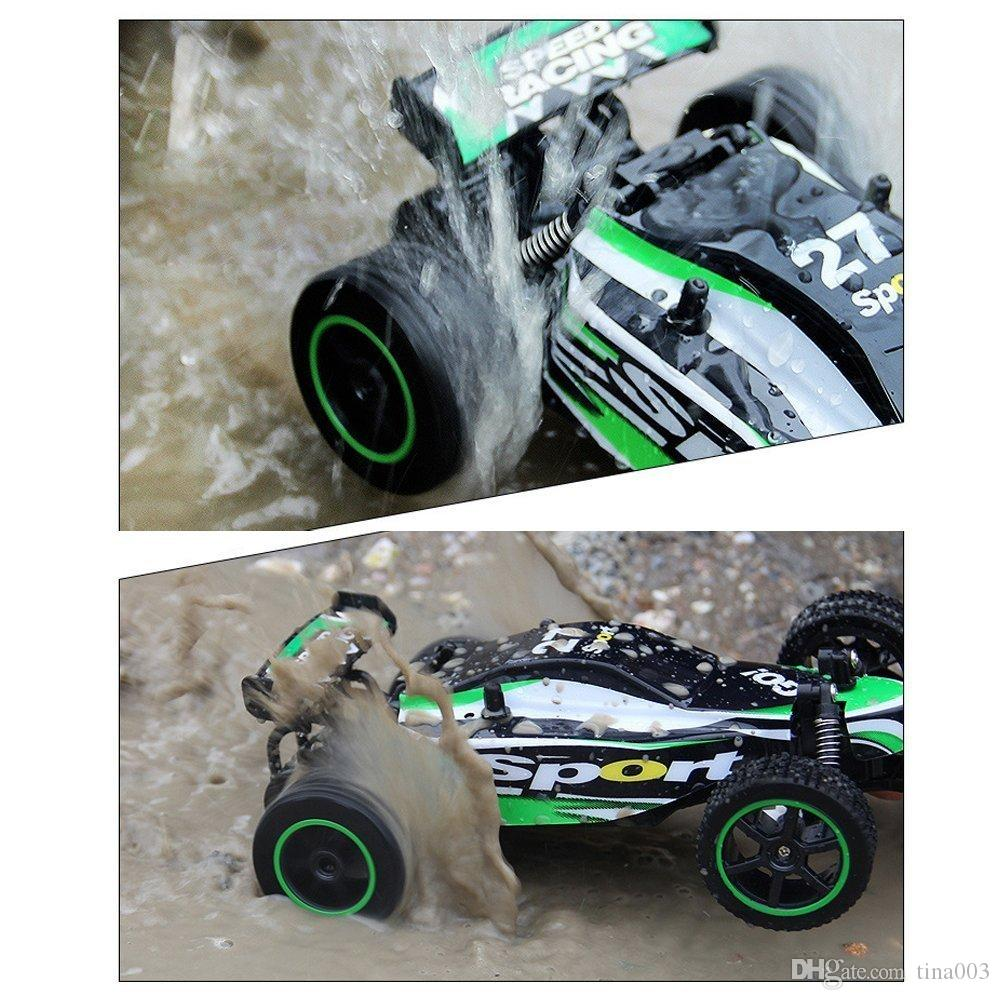 2018 New RC Car 1/20 Scale High-speed Remote Control Car Off-Road 2WD Radio Controlled Electric Vehicle