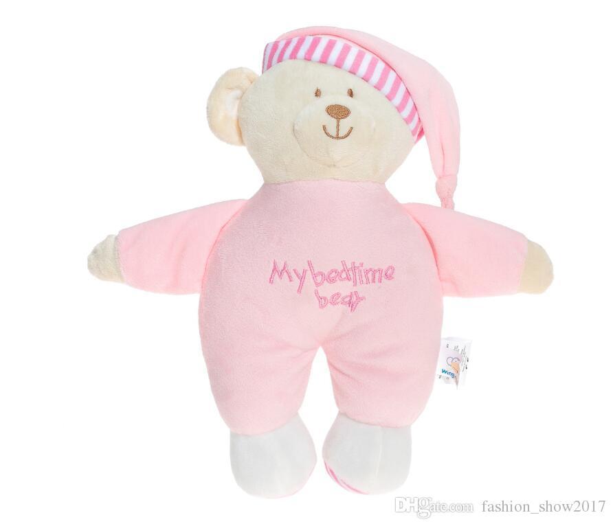 Netter Teddybär Plüschtiere Kuscheltier Bär Plüschtiere Weiche Schlafenszeit Puppe Baby Kinder Spielzeug