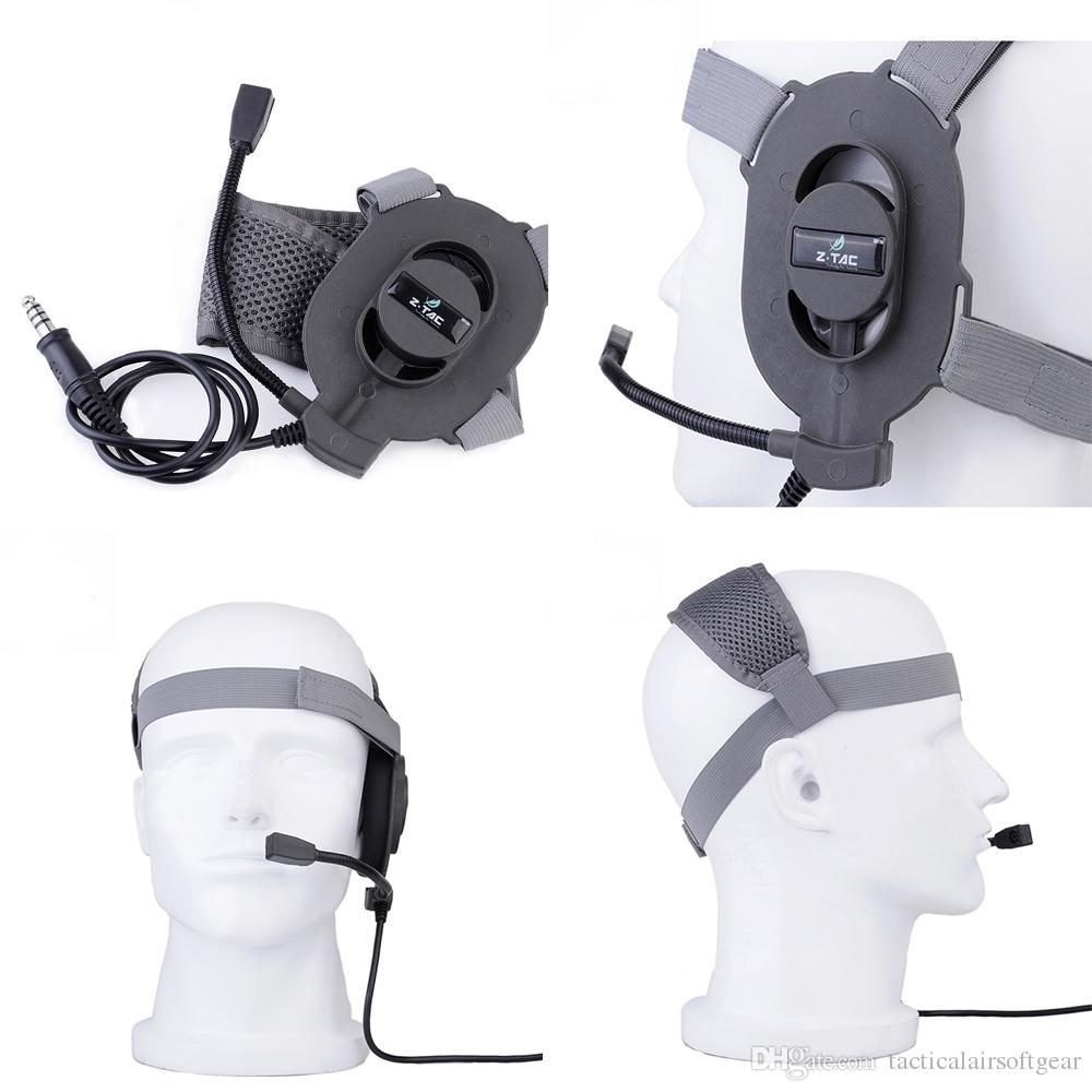 Z-TAC Tactical zBowman Elite II Heads Airsoft Hunting Speaker Headset Micrófono Paintball Auricular Para Wargame Cosplay Earphon