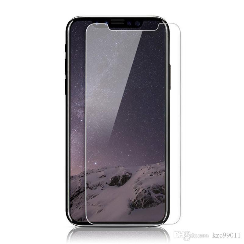 97f121409be Protectores Para Celular Para IPhone XS Max XR Vidrio Templado IPhone X 8 8  Plus Protector De Pantalla Iphone 6s 6 7 7Plus 5 5S IPhone7 Película Para  Galaxy ...