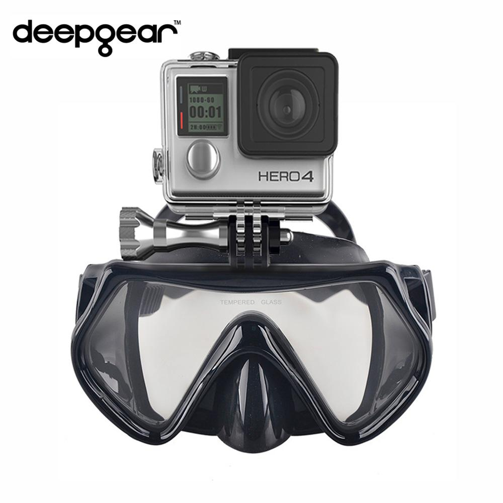 Best Gopro For Scuba Diving 2019 2019 Deepgear Gopro Camera Diving Mask Tempered Glass Scuba Diving