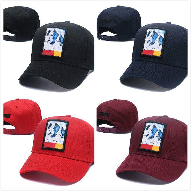 5b74d0ed310 Fashion Harajuku Baseball Cap Men Women Snow Mountain Hat Brand ...