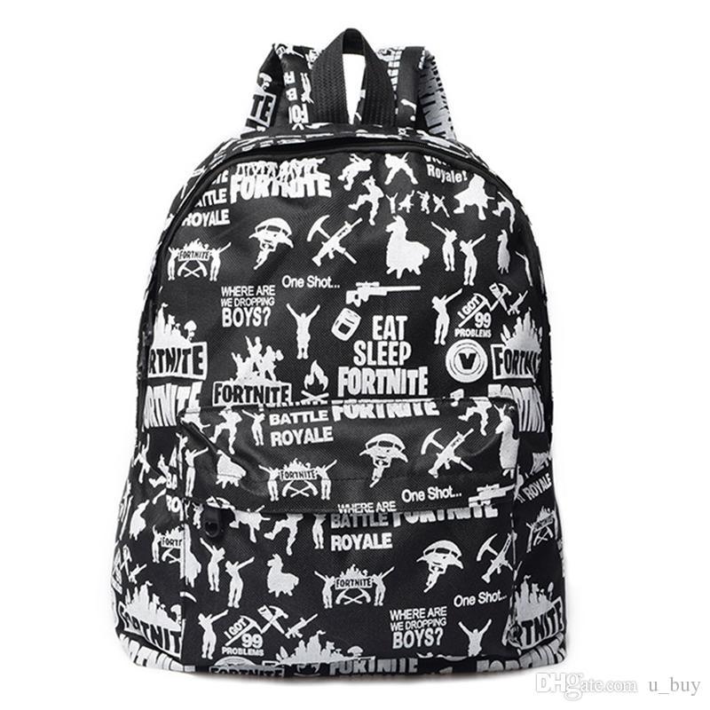 091201a1e5 Fortnite Battle Royale Backpack Shoulder Bags Fortnite Bag Teenager  Students School Bag Sports Casual Bags Printed Fortnite Backpack Fortnite  Battle .