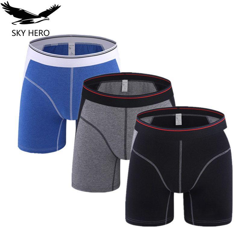 702ef5175a4bd5 Men Underwear Boxers Hommes Cotton Panties For Man Long Boxer Mens ...
