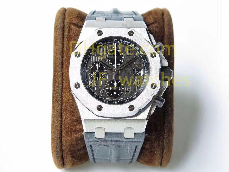 d425253d25f6 Compre AAA Relojes De Lujo Hombres Marca Relojes Cronógrafo Mecánicos 42mm  Alta Calidad VK Relojes Deportivos Hombres Negocios Impermeable 200 M Reloj  De ...