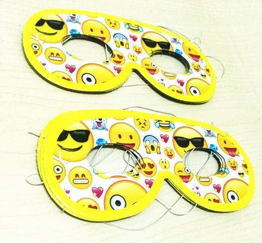 EMOJI FACE MASKS KIDS BIRTHDAY PARTY THEME HAPPY SUPPLIES Party Mask Kids Emoji Online With 3684 Piece On