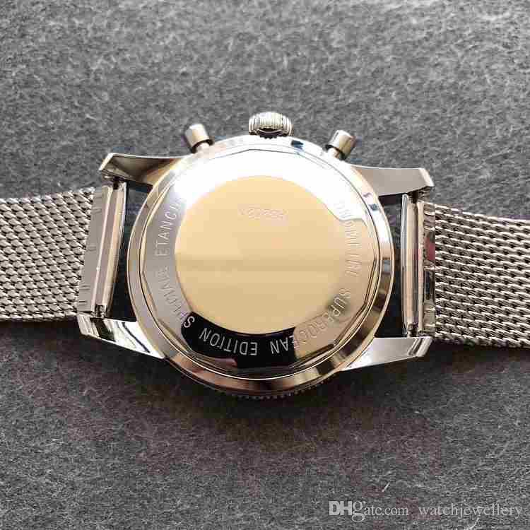Top factory, new Sapphire mirror male watch. sapphire mirror machine men's wrist watch. Match 7750 movement AAA+ quality.