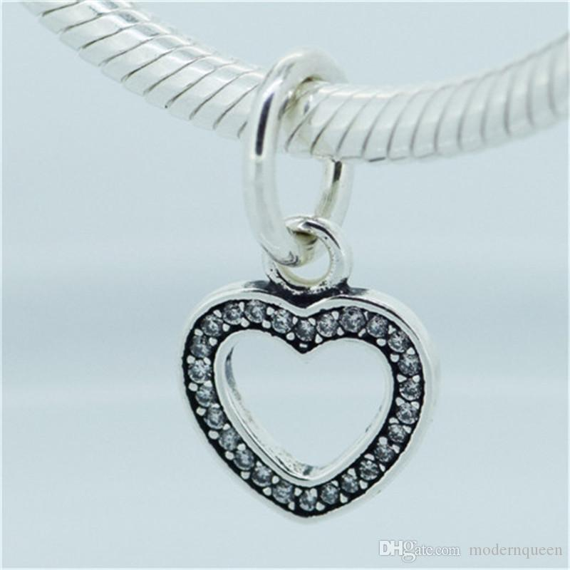 0f300df99 Synbol of Love Bracelet Charms Beads 925 Sterling Silver Fits ...