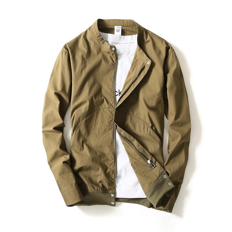 official photos df800 1f6b3 Tomaia primaverile da uomo alla moda, semplice giacca da uomo sottile stile  casual, abbigliamento di marca, giacca primavera-autunno m-4xl