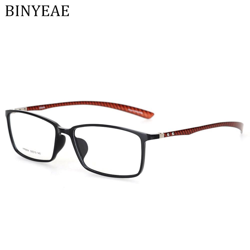 Acheter BINYEAE Marque Fiber De Carbone Mâle Cadre Armacao Oculos De Grau  Lunettes Lunettes Qualité Cadres Femme Lunettes Cadre Pour Verre Myopie De   51.53 ... 41f262c38fe6