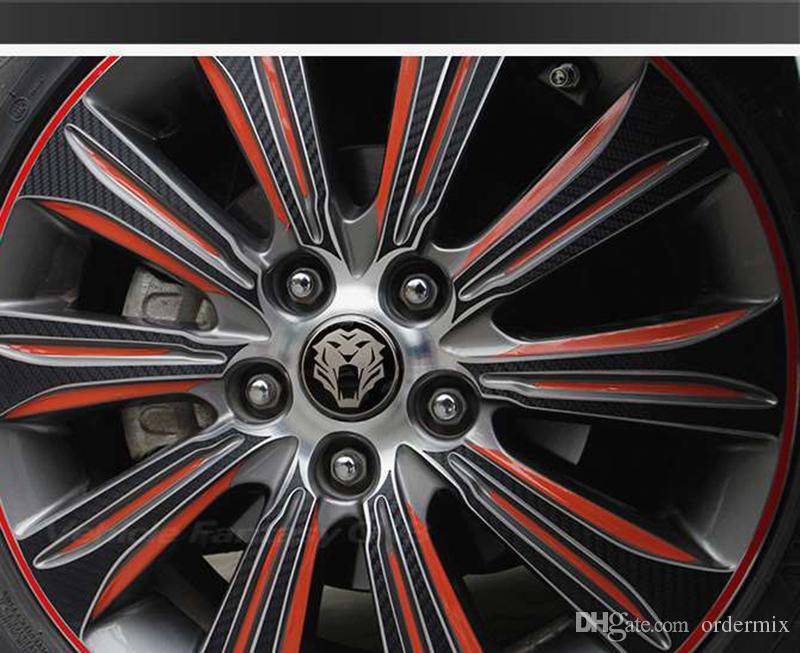 النمر رئيس سيارة عجلة القيادة الاطارات مركز سيارة ملصق محور كاب شعار شارة الشارات ل جاكوار hubcap أودي bmw نيسان فورد 56 ملليمتر