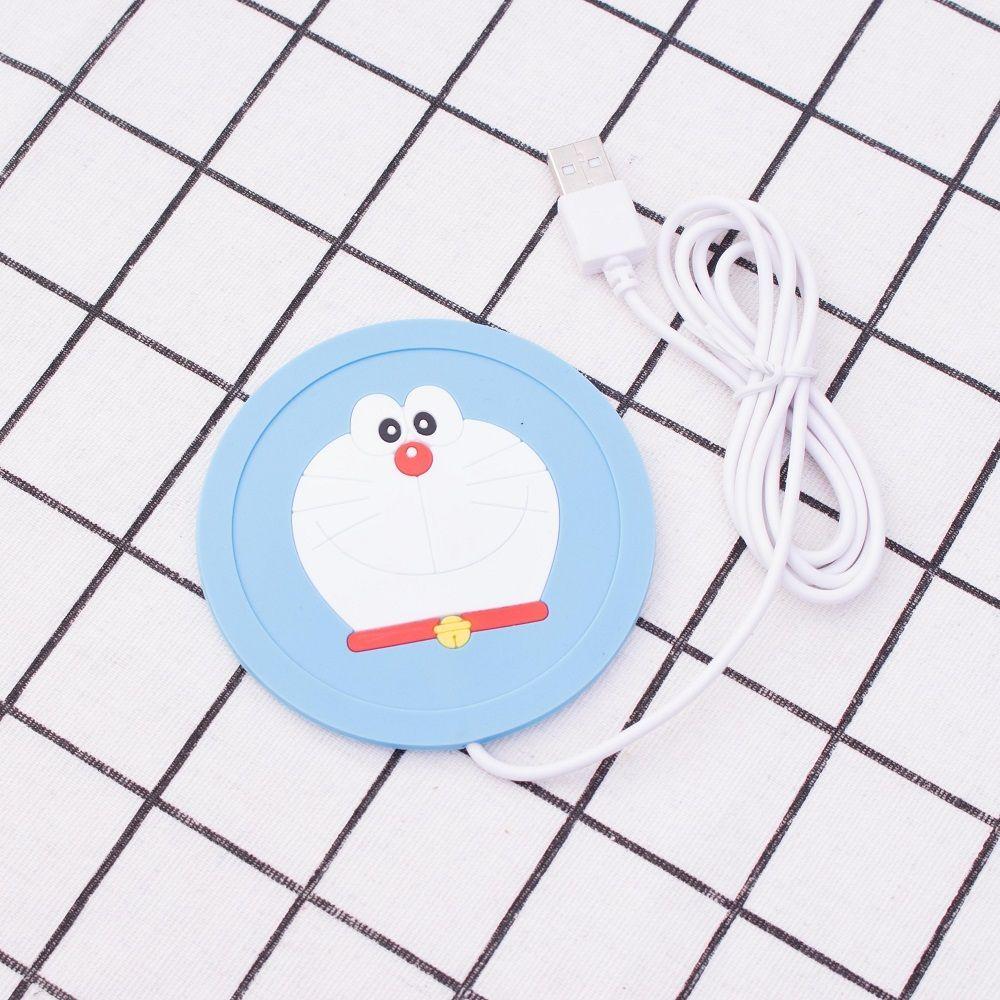 5V USB 따뜻한 컵 매트 실리콘 히터 따뜻한 히터 밀크 티 커피 머그잔 뜨거운 음료 음료 컵 친구를위한 최고의 선물