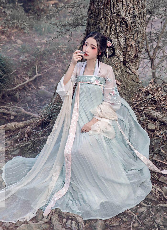 dc47c2bad72b49 2018 Summer Hanfu Women Chinese Dress China Ancient Costume ...