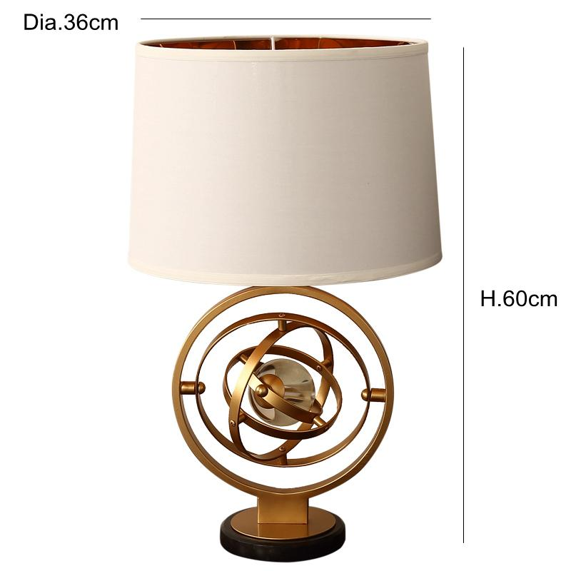 2019 Post Modern Simple Personality Creative Crystal Table Lamp