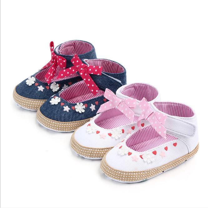 Turnschuhe Mutter & Kinder Weiche Sohle Babyschuhe Rutschfeste Baumwolle Neugeboren Prewalker