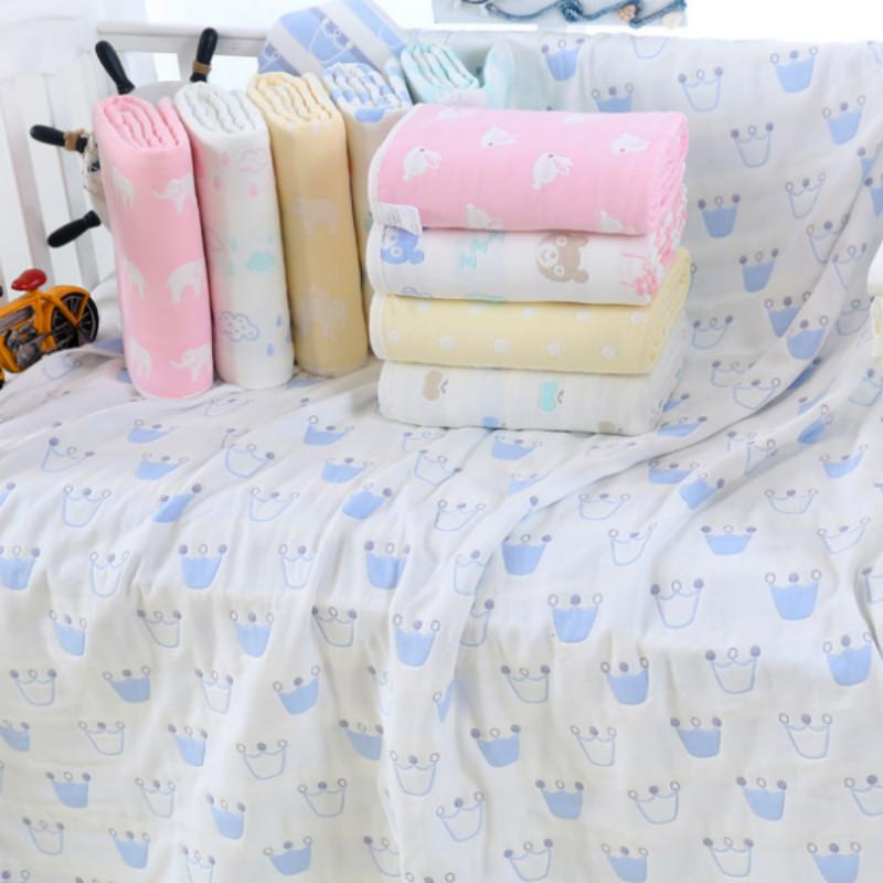 90 100cm Cotton Baby Bathing Towel Newborn Baby Wrap Soft Blanket Cartoon Towel Shower Gift Breathable Blanket For Baby