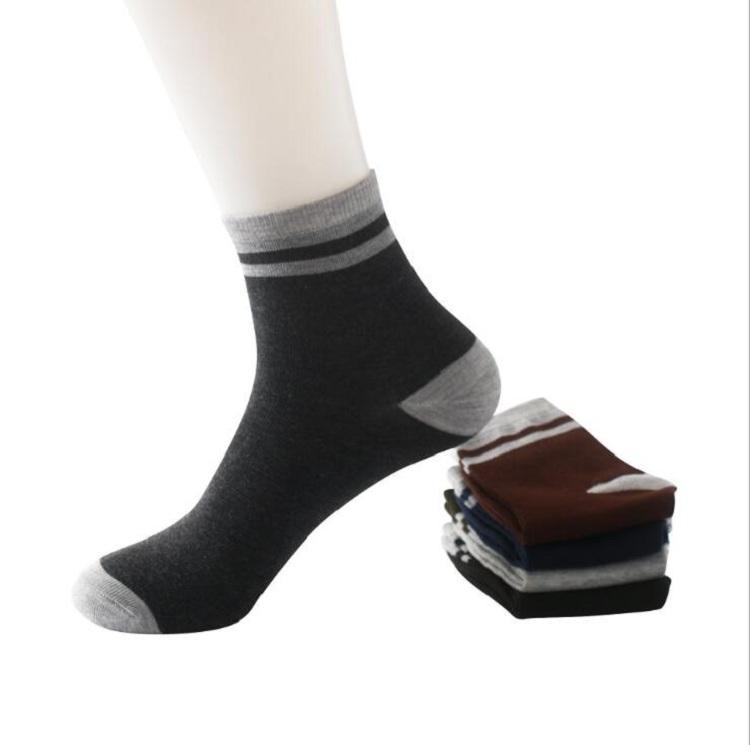 Underwear & Sleepwears Boy Sock New 10 Pairs Lot Man Cosy Comfortable Elasticity Cotton Socks 3 Colors Hot
