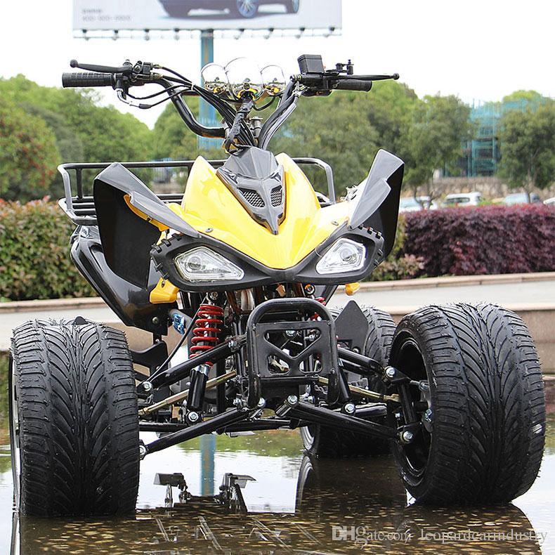 Küçük Mars ATV Dört tekerlekli yetişkin off-road motosiklet 125CC yakıt dağ bisikleti tüm arazi dört tekerlekli go-kart off-road ATV sitesi araç