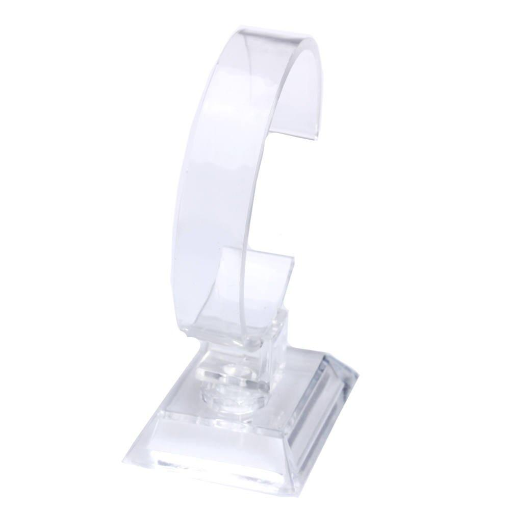6PCS Plastic Jewelry Bangle Cuff Bracelet Watch Display Stand Holder