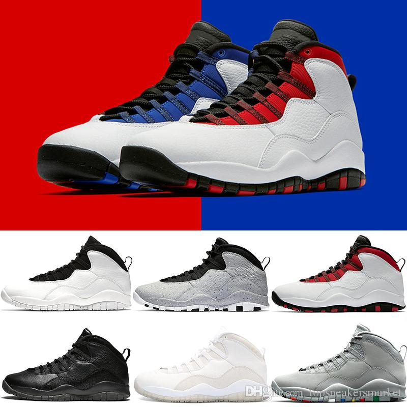 the best attitude f04f2 f7476 Designer Mens 10s Basketball Shoes Westbrook PE I M Back Cement Black White  Cool Grey Powder Blue Cheap Trainers Sport Sneaker Size 41 47 Basketball  Shoes ...