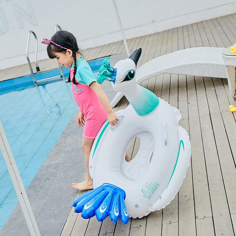 2019 Inflatable Peacock Pool Float Baby Swimming Float Swimming Ring  Animals Pool Floats Boia Piscina Toys Party Child Toys From Towork, $34.33  | DHgate.Com