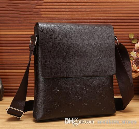 f7df0b30cc4 Designer Luxury Brand Shoulder Bags Men Genuine Leather Briefcases Men  Handbag Bolsas Messenger Bag Men Wedding Dress Crossbody Bag Cheap Designer  Bags ...