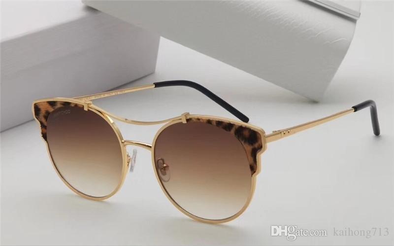 70b4bfa35d244 Compre Nova Personalidade AAAAA Projeto Da Marca De Moda De Luxo Clássico  Óculos De Sol Da Melhor Qualidade De Metal Homens E Mulheres Modelos UV400  De ...