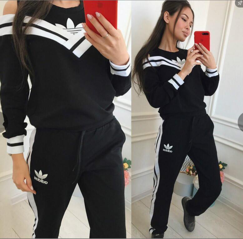 f1aca4b3aa770 Acheter 2018 Neo Women s Clothing Femme Vêtements De Sport Sweats À Capuche  Femme Jogging Combinaison De Sport Pour Vêtements De Yoga Vêtements De  Loisirs ...