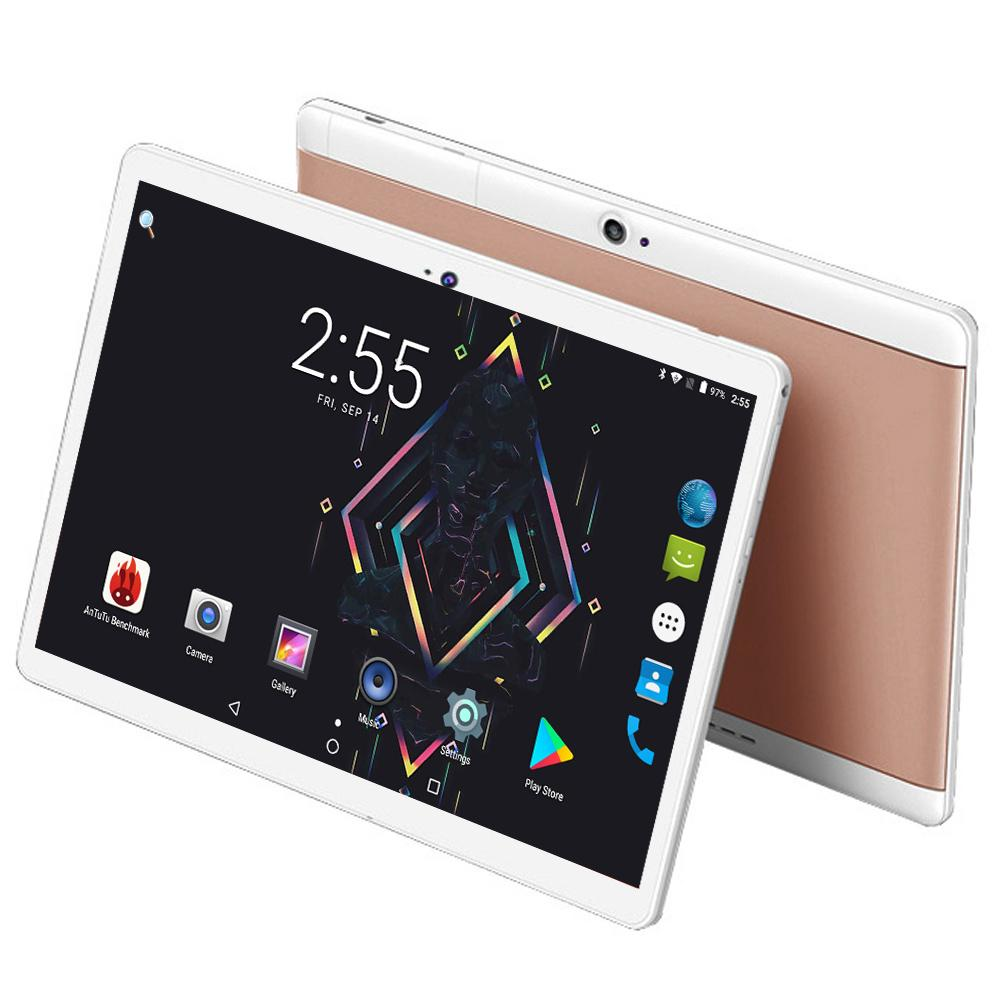 New 2018 Model 10 Inch Tablet Andriod 7.0 System WiFi 3G 4G FDD LTE Phone Call IPS 1280x800 4GB RAM 64GB ROM Computer GPS Tablet