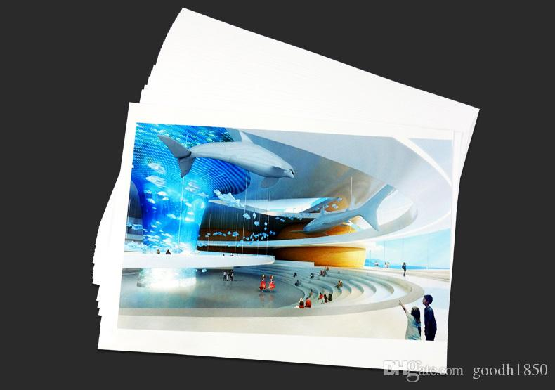 40 Sheets A4 size High Glossy Photo Paper,230gsm paper,usage in record trip and daily living,