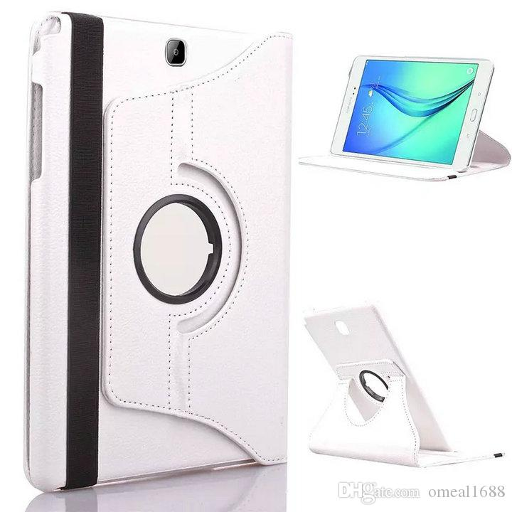 "360 Rotating Leather Case For Samsung Galaxy Tab 3 7.0 T210 T211 T215 P3200 P3210 Tab3 7"" Tablet Stand Flip Cover OM-Q7"