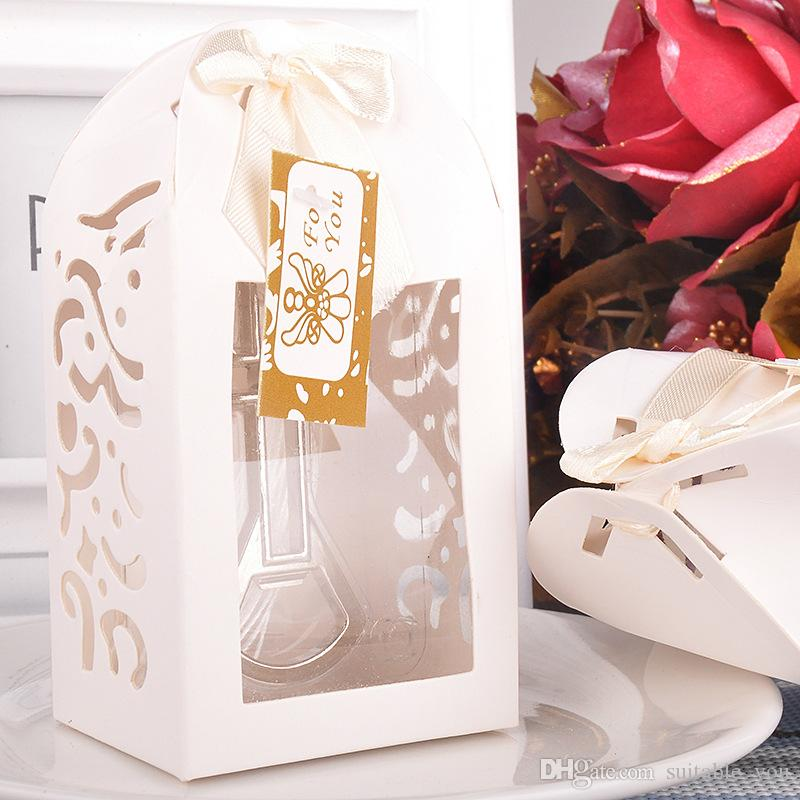 Moqwedding Souvenir Bottle Opener Cross Shape Party Small Gift With