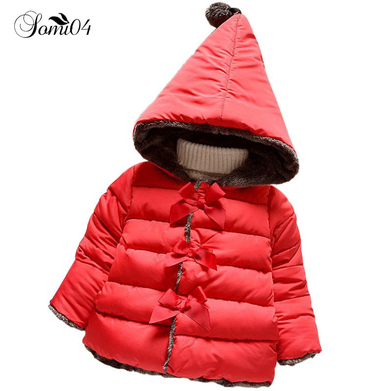 7848f53fd5db High Quality 2018 New Winter Infant Clothes Kids Outerwear Baby ...